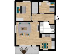 Inviso #254546 / FloorPlan #57758 - Inviso #254546 / FloorPlan #57758 made with Floorplanner