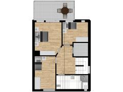 Inviso #254529 / FloorPlan #57763 - Inviso #254529 / FloorPlan #57763 made with Floorplanner