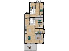 Inviso #255256 / FloorPlan #57764 - Inviso #255256 / FloorPlan #57764 made with Floorplanner