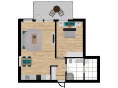 Inviso #254979 / FloorPlan #57725 - Inviso #254979 / FloorPlan #57725 made with Floorplanner