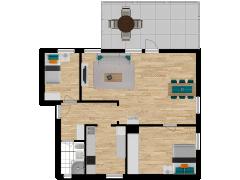Inviso #254687 / FloorPlan #57745 - Inviso #254687 / FloorPlan #57745 made with Floorplanner