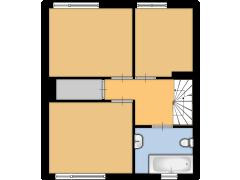 Polkastraat 29, Nijmegen - Polkastraat 29, Nijmegen made with Floorplanner