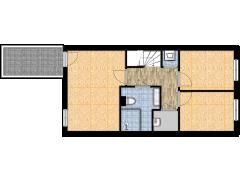Bellefleur 24 Den Hoorn - Bellefleur 24 Den Hoorn made with Floorplanner