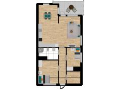 Inviso #257680 / FloorPlan #59835 - Inviso #257680 / FloorPlan #59835 made with Floorplanner