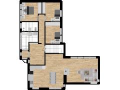 Inviso #258385 / FloorPlan #59878 - Inviso #258385 / FloorPlan #59878 made with Floorplanner