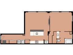 120 E Cullerton Street 105 - 120 E Cullerton Street 105 made with Floorplanner