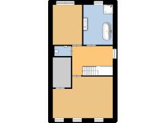 Bolksmaten 10, Weerselo - Bolksmaten 10, Weerselo made with Floorplanner