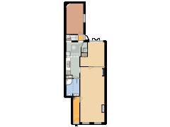 24217 - R&RDH - Antonie Duyckstraat 1 - Den Haag - 24217 - R&RDH - Antonie Duyckstraat 1 - Den Haag made with Floorplanner