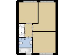 Westermarwei 7 - Westermarwei 7 made with Floorplanner