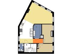 4304 - S&H - Nieuwe Achtergracht 117-III - Amsterdam - 4304 - S&H - Nieuwe Achtergracht 117-III - Amsterdam made with Floorplanner