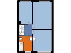 Lisdodde 15, Kampen - Lisdodde 15, Kampen made with Floorplanner