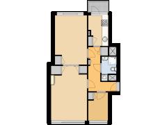 maarten010-Prins Hendriklaan 35C - maarten010-Prins Hendriklaan 35C made with Floorplanner