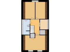 Henric de Cranestraat 131 (De Woudenhof Makelaars ) - Henric de Cranestraat 131 (De Woudenhof Makelaars ) made with Floorplanner