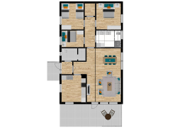 Inviso #261047 / FloorPlan #62975 - Inviso #261047 / FloorPlan #62975 made with Floorplanner