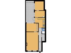 Kenaustraat 89, Den Haag - Kenaustraat 89, Den Haag made with Floorplanner