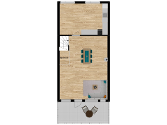 Inviso #262581 / FloorPlan #63058 - Inviso #262581 / FloorPlan #63058 made with Floorplanner