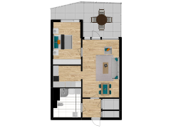 Inviso #261160 / FloorPlan #63051 - Inviso #261160 / FloorPlan #63051 made with Floorplanner