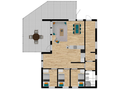 Inviso #262254 / FloorPlan #63055 - Inviso #262254 / FloorPlan #63055 made with Floorplanner