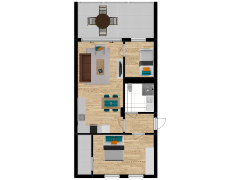 Inviso #261657 / FloorPlan #63048 - Inviso #261657 / FloorPlan #63048 made with Floorplanner