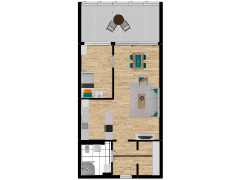 Inviso #262030 / FloorPlan #63068 - Inviso #262030 / FloorPlan #63068 made with Floorplanner