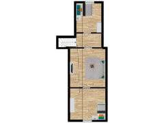 Inviso #262599 / FloorPlan #63062 - Inviso #262599 / FloorPlan #63062 made with Floorplanner