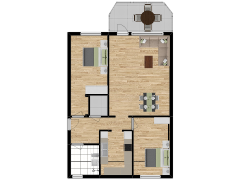Inviso #261988 / FloorPlan #63071 - Inviso #261988 / FloorPlan #63071 made with Floorplanner