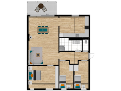 Inviso #260567 / FloorPlan #63079 - Inviso #260567 / FloorPlan #63079 made with Floorplanner
