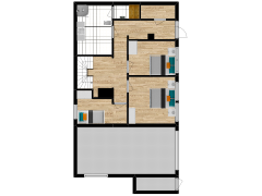 Inviso #258782 / FloorPlan #63069 - Inviso #258782 / FloorPlan #63069 made with Floorplanner