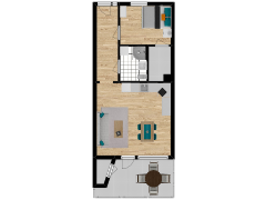 Inviso #260892 / FloorPlan #63075 - Inviso #260892 / FloorPlan #63075 made with Floorplanner