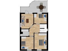 Inviso #262190 / FloorPlan #63017 - Inviso #262190 / FloorPlan #63017 made with Floorplanner