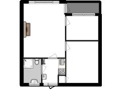 Plattedijk 25-52 - Plattedijk 25-52 made with Floorplanner