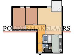 25428 - Polder - Muiderbos 78 - Hoofddorp - 25428 - Polder - Muiderbos 78 - Hoofddorp made with Floorplanner