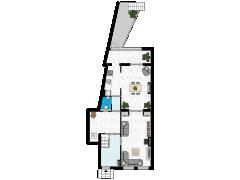 Eusebiusbuitensingel 13, Arnhem - Eusebiusbuitensingel 13, Arnhem made with Floorplanner