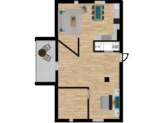 Inviso #260785 / FloorPlan #63136 - Inviso #260785 / FloorPlan #63136 made with Floorplanner