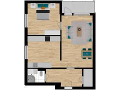 Inviso #262839 / FloorPlan #63125 - Inviso #262839 / FloorPlan #63125 made with Floorplanner