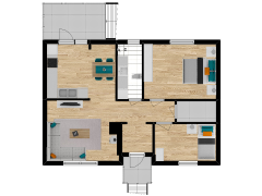 Inviso #262216 / FloorPlan #63127 - Inviso #262216 / FloorPlan #63127 made with Floorplanner