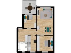 Inviso #261677 / FloorPlan #63184 - Inviso #261677 / FloorPlan #63184 made with Floorplanner