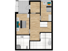 Inviso #261734 / FloorPlan #63123 - Inviso #261734 / FloorPlan #63123 made with Floorplanner