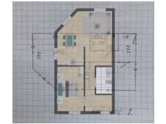 Inviso #261955 / FloorPlan #63194 - Inviso #261955 / FloorPlan #63194 made with Floorplanner
