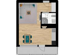Inviso #255492 / FloorPlan #63140 - Inviso #255492 / FloorPlan #63140 made with Floorplanner