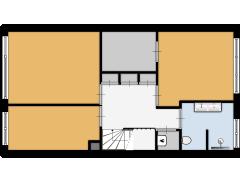 Willibrorduslaan 109 Hilversum - Willibrorduslaan 109 Hilversum made with Floorplanner