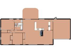 888 N Merrill Street - 888 N Merrill Street made with Floorplanner