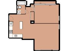 1850 N Clark Street 402 - 1850 N Clark Street 402 made with Floorplanner