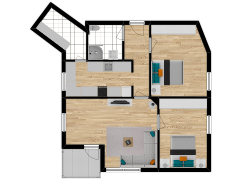 Inviso #269553 / FloorPlan #68713 - Inviso #269553 / FloorPlan #68713 made with Floorplanner