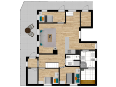 Inviso #270481 / FloorPlan #68709 - Inviso #270481 / FloorPlan #68709 made with Floorplanner