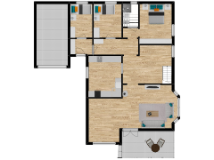 Inviso #269418 / FloorPlan #68758 - Inviso #269418 / FloorPlan #68758 made with Floorplanner