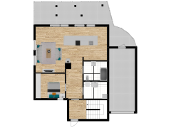Inviso #268207 / FloorPlan #68613 - Inviso #268207 / FloorPlan #68613 made with Floorplanner