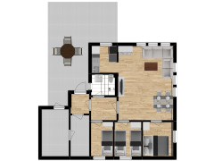 Inviso #270120 / FloorPlan #68766 - Inviso #270120 / FloorPlan #68766 made with Floorplanner