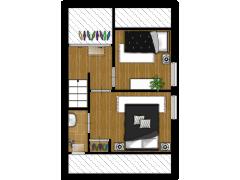 De Hoogte 21 - De Hoogte 21 made with Floorplanner