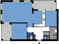 Hannie Schaftstraat 173, Hoofddorp - Hannie Schaftstraat 173, Hoofddorp made with Floorplanner